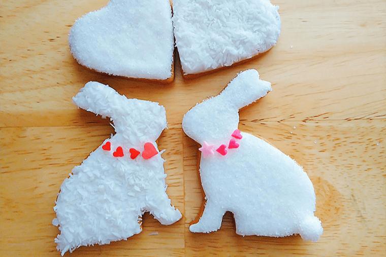 うさぎのアイシングクッキー