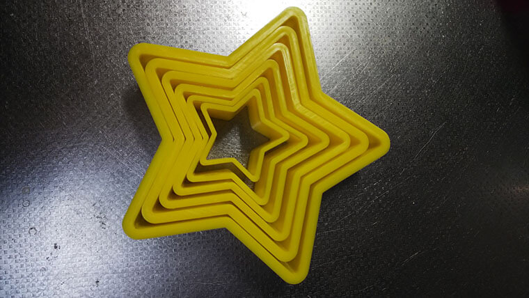 星のクッキー型