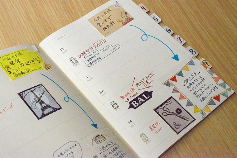 手帳の便利な使い方とかわいい書き方のアイデア Craftie Style