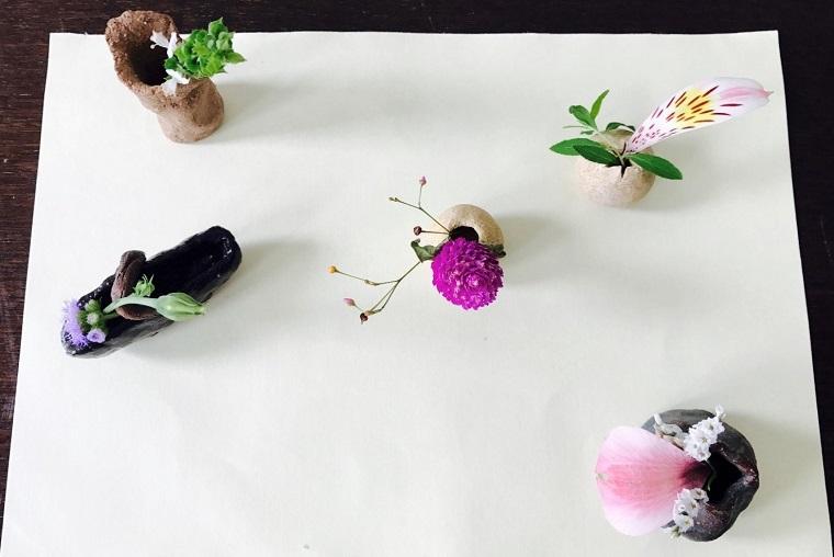お花の一部でミニアチュール