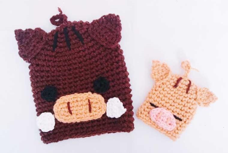 アクリル たわし 編み 方
