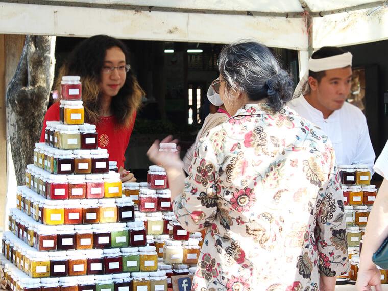 チェンマイのファーマーズマーケット