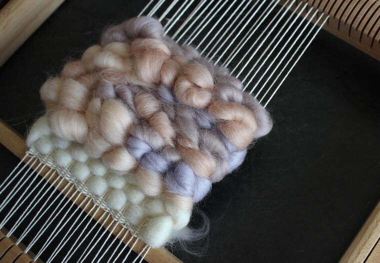 羊毛タペストリーの作り方