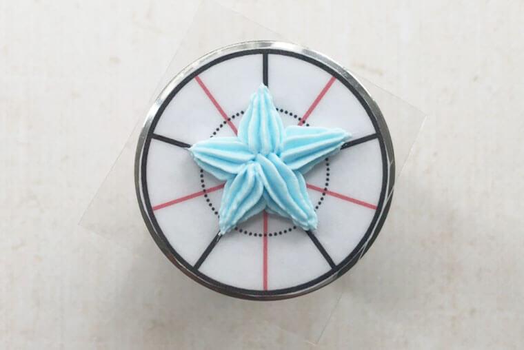 海モチーフのアイシングパーツの作り方