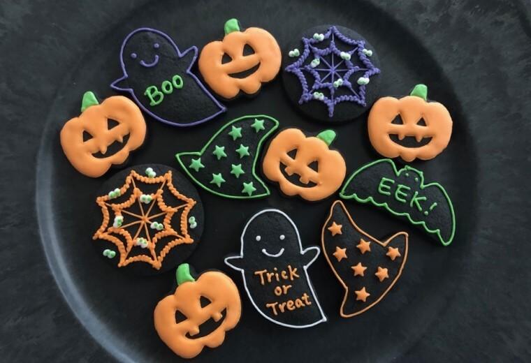 ハロウィンのアイシングクッキーの作り方