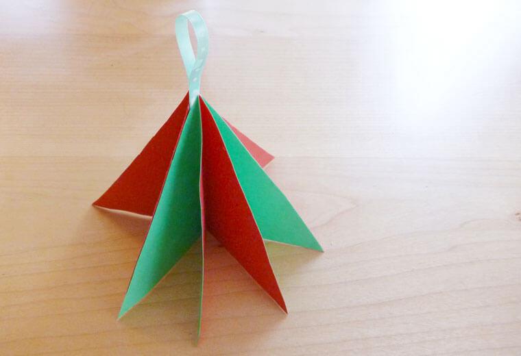 クリスマスのオーナメントを手作りしよう!〜紙工作編〜