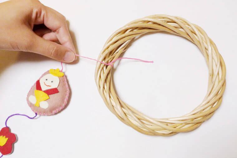 つるし雛の作り方